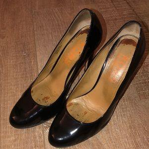MICHAEL KORS Glitter Black Patent Leather